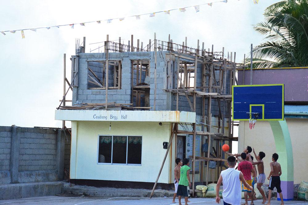 Casibang, Maripipi - Barangay Hall